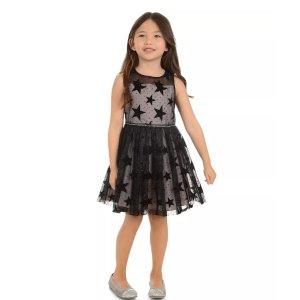 低至7.5折+额外8折最后一天:Bloomingdales 女童连衣裙促销 收精致节日礼服裙