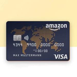 开户就送€40 Prime用户免年费Amazon Visa信用卡 每笔消费高达3%返现 超适合买买买