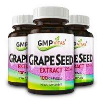 GMP Vitas 葡萄籽精华325mg 100粒 x 3瓶