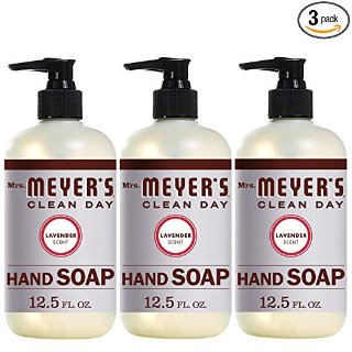 $10.47Mrs Meyers 薰衣草味道 天然洗手液 3瓶