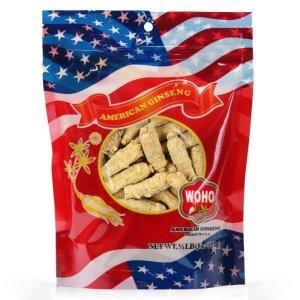 WOHO #132.8 美国精选花旗参短枝中号 8oz袋装
