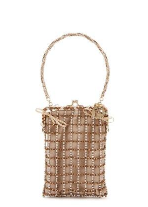 Rosantica Robin crystal-embellished top handle bag - Harvey Nichols