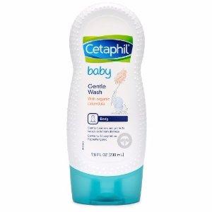 Cetaphil8.5折+额外9.5折婴儿有机金盏花温和洗浴乳 7.8 oz