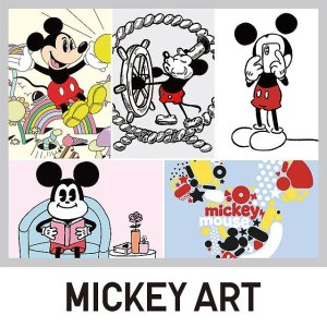 From $7.9MICKEY ART UT T-Shirt Collection @Uniqlo