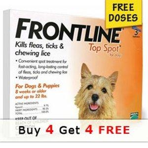 Frontline狗狗体外驱虫药