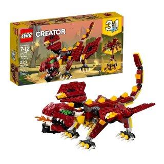 $9.99史低价:LEGO Creator 3合1 31073 神秘怪兽 223片