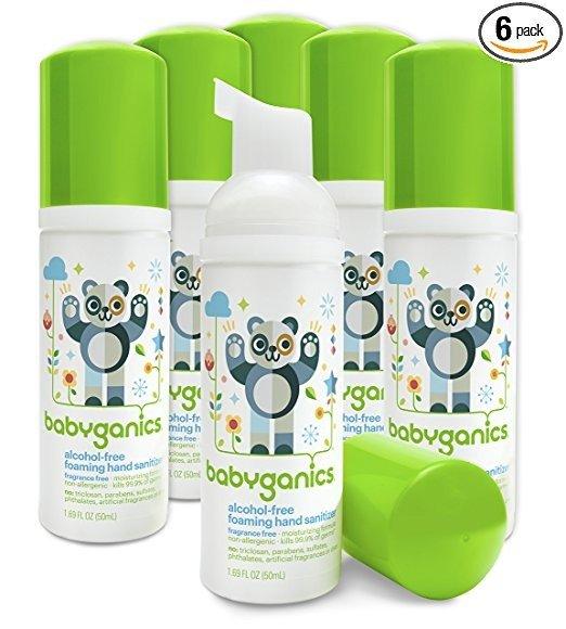 无香型儿童免洗洗手液 50ml/瓶,6瓶装