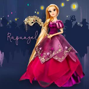 11月2日发售 Repunzel 最后一款限量娃娃预告:迪士尼官网 10月最新限量假面舞会公主娃娃惊艳登场