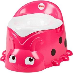 $9.99史低价:Fisher-Price 瓢虫造型 小童训练马桶