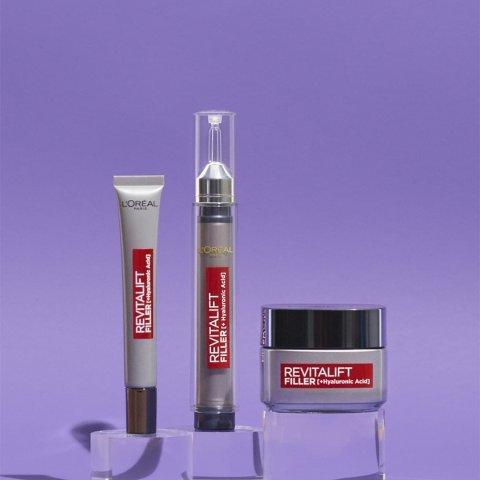 5折起,£7入熨斗眼霜,玻尿酸安瓶也有L'Oréal 精选护肤、彩妆、洗护闪促,£6入小钢笔116