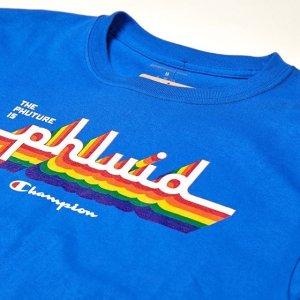 $25起收Champion官网 Pride系列T恤 卫衣上架