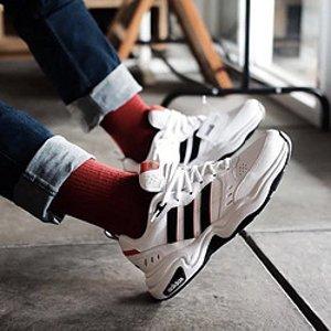 $46.75(官网原价$100)Adidas Strutter Cross 男士跑步鞋 复古配色 码全速冲