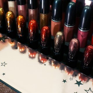 【27支MAC试色】MAC星闪圣诞限量套装 + 最火爆色号 质地分析&色号推荐