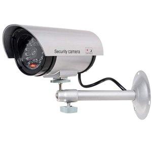 WALI 假监控摄像头+警告贴纸