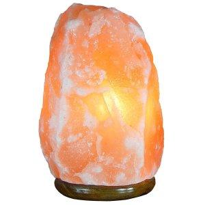 $9.99 (原价$38.88)白菜价:Tuli Traders 天然喜马拉雅水晶盐灯,床头灯