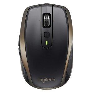 $48.99(原价$69) 电脑无障碍复制粘贴Logitech 罗技 MX Anywhere 2 石墨灰 多设备无线鼠标