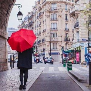 Totes迷你纯色雨伞
