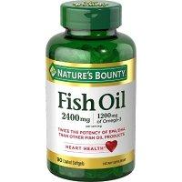 Nature's Bounty 高含量鱼油 2400 mg 90粒