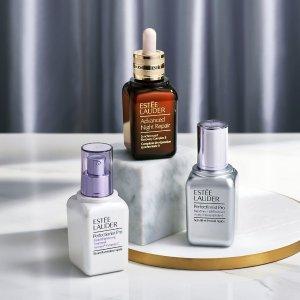 最高送价值$243好礼Estee Lauder 美妆护肤品热卖 收超值套装、小棕瓶