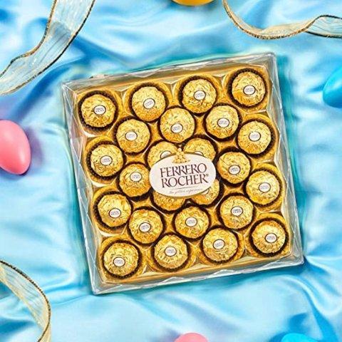 Ferrero 费列罗牛奶巧克力礼盒 10.5oz,24颗