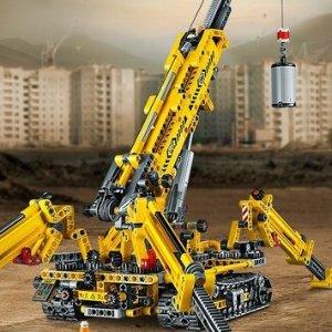 7.1折 $99.99(原价$139.99)LEGO 机械组 19年新款 2合1履带起重机 比国内便宜一半