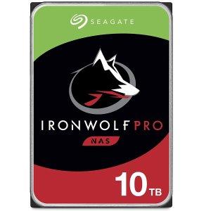 8折起 多容量Seagate IronWolf Pro 酷狼专业版 NAS 机械硬盘