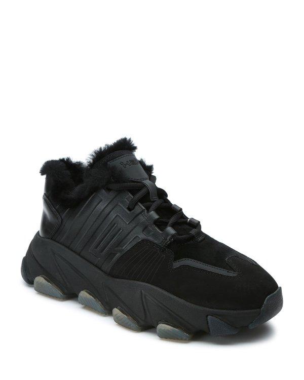 加绒运动鞋