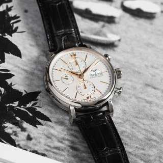 Extra $50 OffDealmoon Exclusive: IWC Portofino Automatic Chronograph Men's Watch