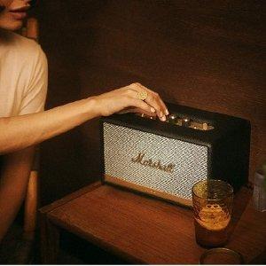 跌至史低¥1152折扣升级:Marshall Acton II 复古蓝牙音箱 全新升级款