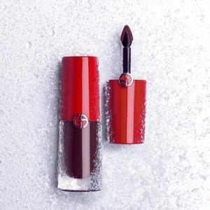 8.5折Giorgio Armani阿玛尼彩妆护肤香水热卖 收超火唇膏,粉底