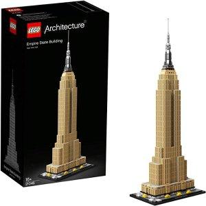 LEGO 21046 建筑系列 帝国大厦 6.2折特价