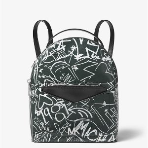 aa1225594eff Michael Kors Mott Large Grafiti Leather Crossbody · Michael KorsJessa Small Graffiti  Leather Convertible Backpack