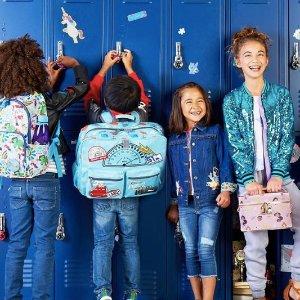 低至5折最后一天:迪士尼官网 精选儿童书包 服装等促销