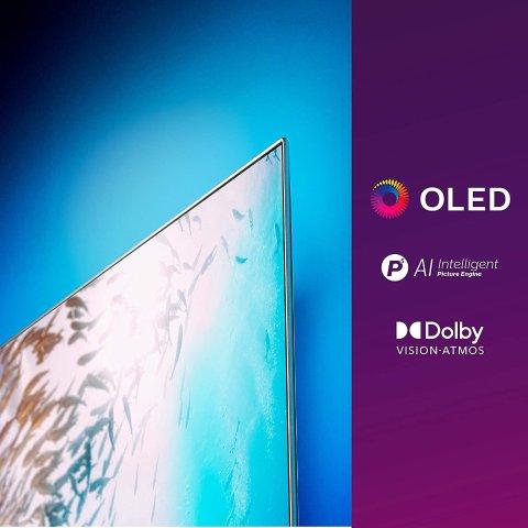 Philips 流光溢彩系列 55OLED805 / 12 55寸超大屏电视