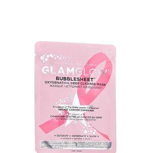 Glamglow乳腺癌泡泡面膜