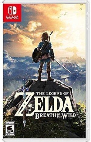 $49.99 (原价$59.99)《塞尔达传说:旷野之息》Switch 实体游戏