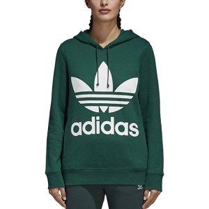 $38.98起+包邮adidas 三叶草经典Logo款女子运动卫衣 多色可选