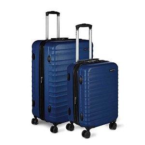 $84.47 性价比之王AmazonBasics 硬壳万向轮行李箱 20+28 两件套