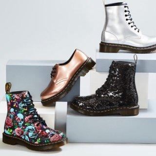低至6.5折 经典八孔马丁靴$85收Dr. Martens 精选男女鞋履特价热卖