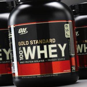 7.5折,多味任你选Gold Standard 100%乳清蛋白粉促销