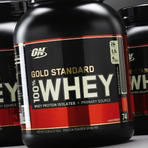 25% OffGold Standard 100% Whey @ Bodybuilding.com