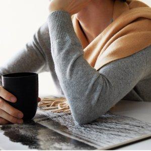满$150立减$25 折扣区也参加State Cashmere 母亲节羊绒衫、配饰限时促销