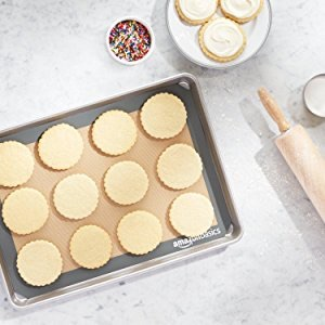 AmazonBasics Silicone Baking Mat Sheet, Set of 2