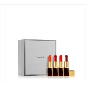 合¥264/支,免邮中国TOM FORD 黑金黑管唇膏 4色礼盒套装 #07+#06+#16+#09