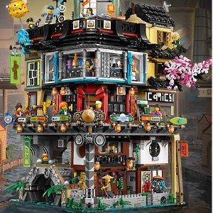 $299.99 + Free Gift New Set Released: NINJAGO® City 70620 @ LEGO