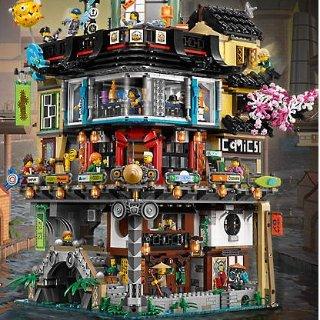 $299.99 + Free GiftNew Set Released: NINJAGO® City 70620 @ LEGO