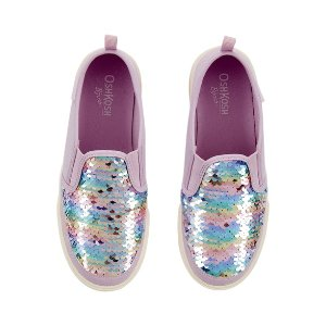 OshkoshOshKosh Rainbow Glitter Slip-On Shoes