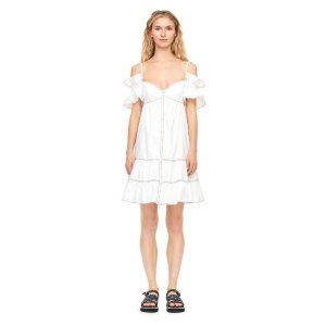Rebecca Taylorget 20% with $500 purchaseOff-The-Shoulder Poplin Dress