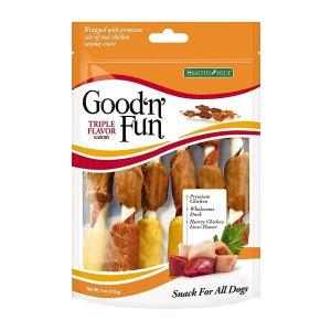 Good'n'Fun Triple Flavored Kabobs Rawhide Chews
