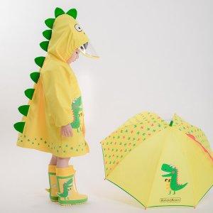 ¥108收封面款,加拿大一件包邮最后一天:Banana Room 萌系毕业生的雨天出行 雨衣雨伞泳衣